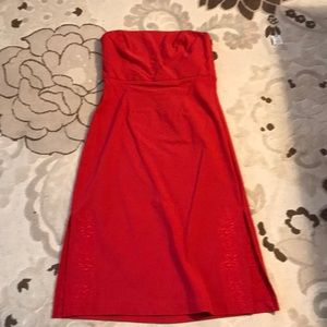 Express Red Dress , Size 7/8